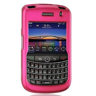Hard Rubberized Case for Blackberry Tour 9630/9650 - Pink