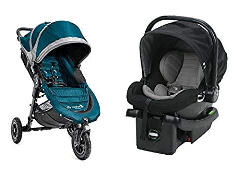 Baby Jogger 2016 City Mini GT Travel System in Teal/Black