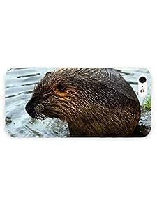 3d Full Wrap Case for iPhone 5/5s Animal Beaver