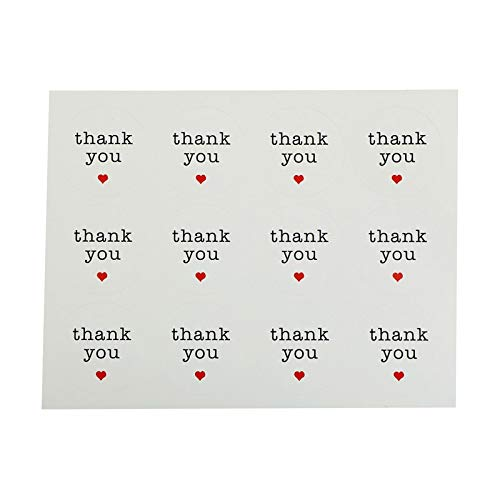 (Party DIY Decorations - 120pcs Lot Quot Thank You Kraft Paper Diy Bakery Package Label Adhesive Sticker Seal Stickers - Party Decorations Party Decorations Candy Halloween Bakery)