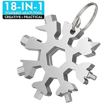 Snow Flake 19-1 Steel Shape Flat Cross Snowflake Multi Tool Household Hand Tool
