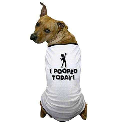 Dog Poop Machine Costume (CafePress - I Pooped Today! Dog T-Shirt - Dog T-Shirt, Pet Clothing, Funny Dog Costume)