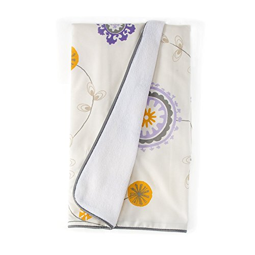 Sweet Potato Fiona Quilt floral, Purple/White/Yellow by Sweet Potatoes