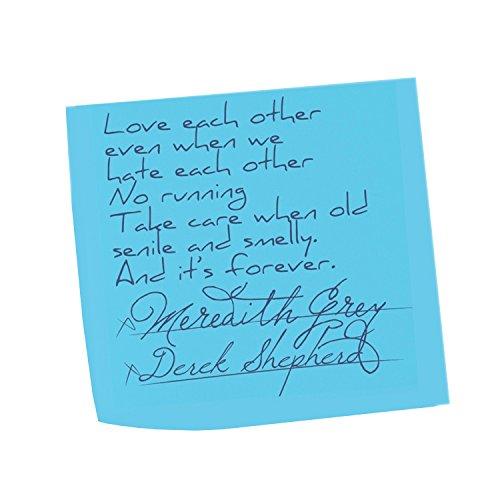 Love Eachother Sticky Note Marriage Meredith Derek Vows Grey Sticker 5