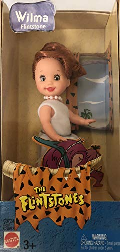 The Flintstones Barbie Kelly Size Wilma doll