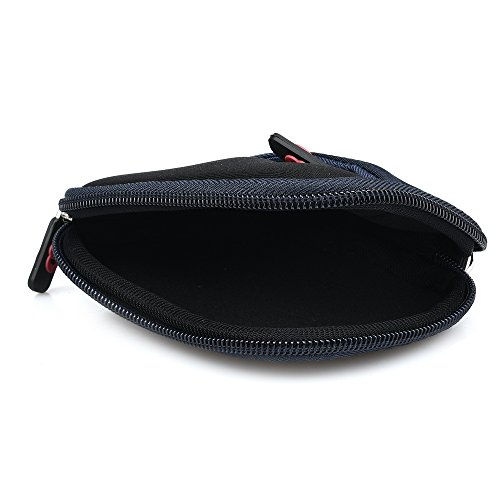 Phonak Bolero V50 Hearing Aid NEW Neoprene Protective Case w/ micro fiber lining and pocket by Nevissbags (Image #4)
