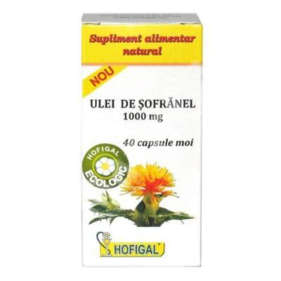 Safflower oil, 40 capsules, Hofigal