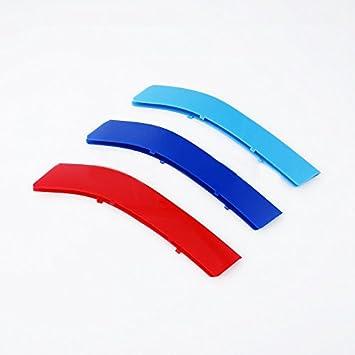 3D Coche Rejillas Frontales para 2009-2013 E92 E93 ABS 3 colores