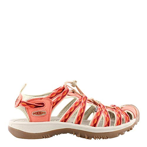 Keen Women's Whisper Safari/Coral 11 B US