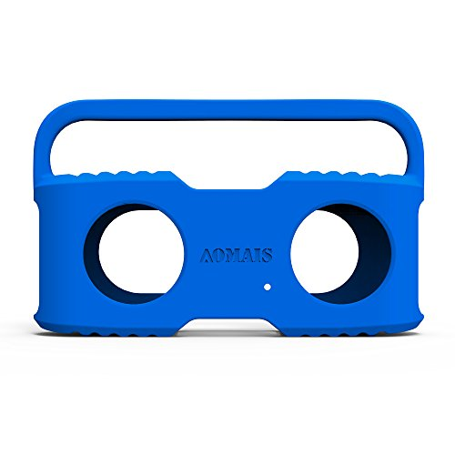Bluetooth Speakers Sling Cover for AOMAIS Sport Waterproof Portable Speakers(Blue)