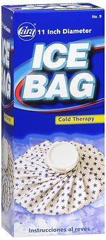 Cara English Ice Bag - 11'' each, Pack of 2
