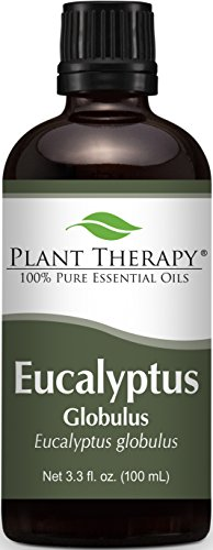 Plant Therapy Eucalyptus (Globulus) Essential Oil. 100% Pure, Undiluted, Therapeutic Grade. 100 ml
