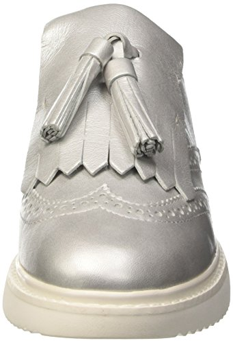 Zapatos Thymar Cordones Para Plateado silverc1007 De Geox D Mujer Oxford C Cq5Tw6P4xt