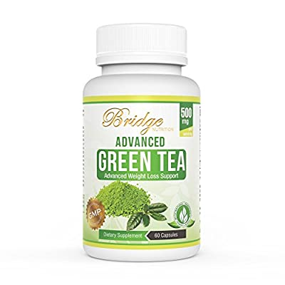 Green Tea Extract for Natural Weight Loss - Boost Metabolism & Promote a Healthy Heart - Natural Caffeine Source for Energy - Antioxidant & Free Radical Scavenger - 60 Capsules