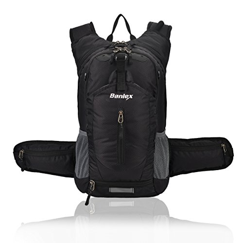 Cheap BONLEX Cycling Hydration Pack Biking Backpack 20L Multi-Function Riding Backpack with Insulation Compartment,3L Water Bladder Available,Lightweight Daypack Hiking Backpack (Black)