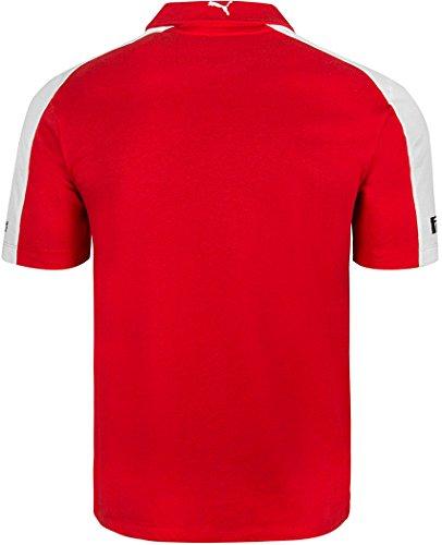 Puma Ferrari Formula One Team Polo Shirt - Red (Extra Small)