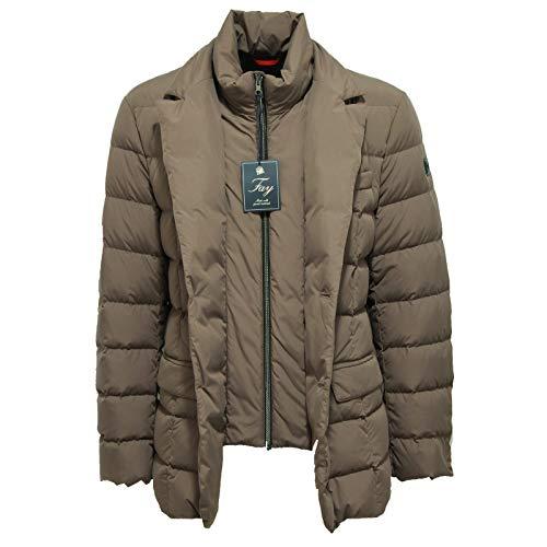 Fay Giubbotto Man Uomo Brown Light Fango 7299x Jacket Piumino TP4TqA