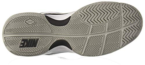 NIKE Men's Court Lite Athletic Shoe, Black/White/Medium Grey, 8.5 Regular US by Nike (Image #3)