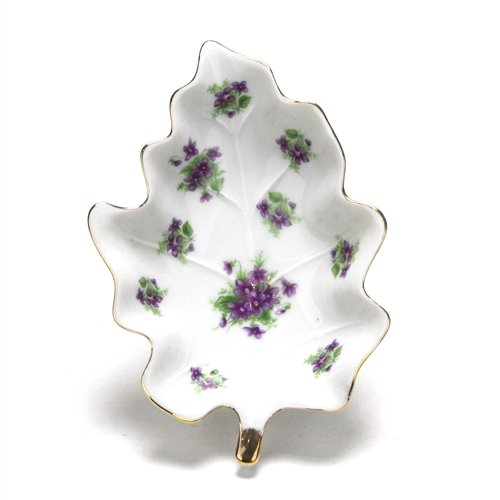 Lefton Candy - Bonbon Dish by Lefton, China, Violets
