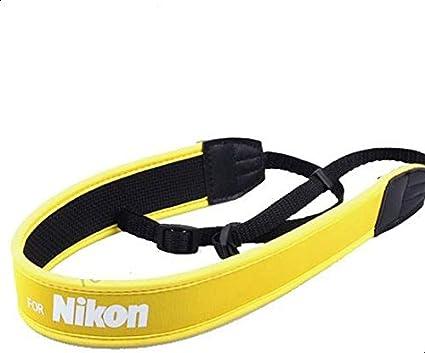 CAMERA SHOULDER NEOPRENE NECK STRAP for NIKON SLR DSLR (D90 D3000 D3100 D3200 D5100 D800 D5000 D5200 D7000 D700 D4)