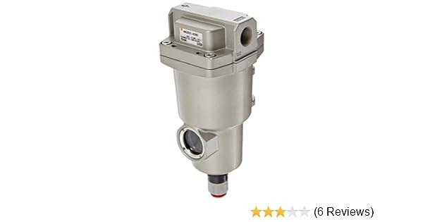 1//4 NPT N.O Auto Drain 750 L//min SMC AMG250C-N02D Water Separator