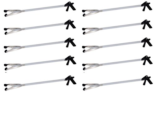 40'' EZ Reacher Pick-Up Tool - Pack of 10 by Arcoa