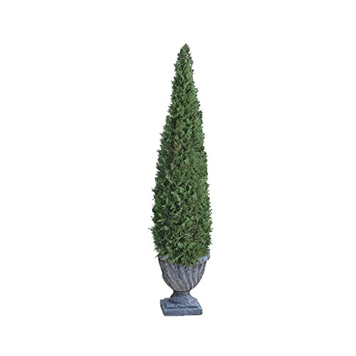 Design Toscano The Topiary Tree Collection Medium Cone, Multicolored