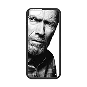Onshop Clint Eastwood Pattern Custom Phone Case Laser Technology for iphone 4 4s