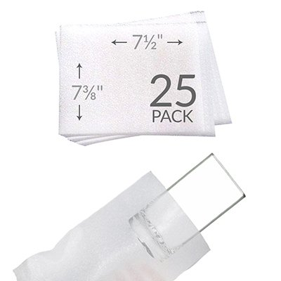 UBOXES 7 3//8x 7 1//2 Foam Wrap Cup Pouches Protect Dishes and Fragile Items while Moving 25 Pack