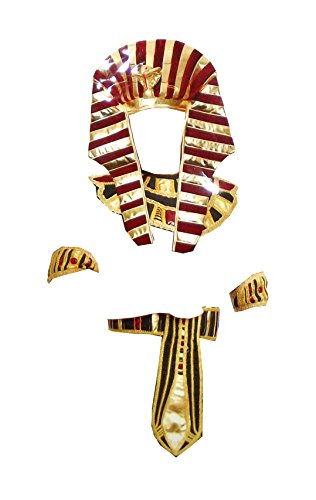 Charades Egyptian Children's Halloween Costume Accessory Kit, 4 pieces, Large -