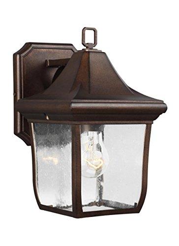 - Feiss OL13100PTBZ Oakmont Outdoor Patio Lighting Wall Lantern, Bronze, 1-Light (7