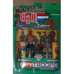 Gi Joe 3 3/4 Roadblock & Wild Bill 2 Pack SpyTroops ()