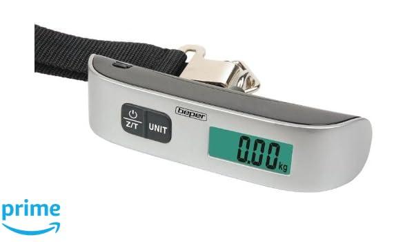 BEPER 90.126/Pesa Maletas electrónico 50 kg/50Gr.: Amazon.es: Electrónica
