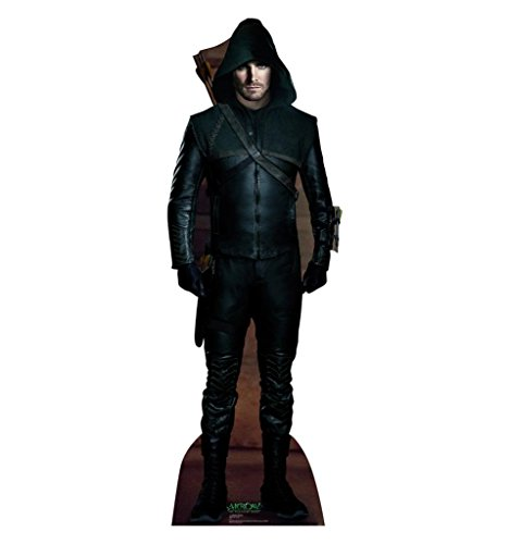 Green Arrow - The CW's Arrow - Advanced Graphics Life Size Cardboard - Out Arrow Cut