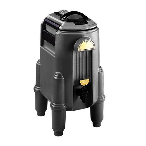 Cambro CSR5110 Black 5 Gallon Insulated Beverage CamServer