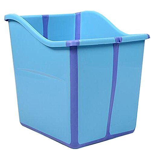 YUGDSIMB Larger Baby Tub Is Foldable , Blue by YUGDSIMB
