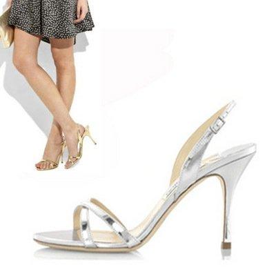 GAOLIM Sandalias De Verano Puro Tacones Finos Zapatos De Boda Zapatos De Tallas Negro de 9 cm