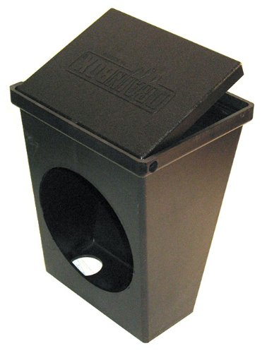 DrainBox for creating a termination point for underground 4 inch drain pipe - Drain Box ()