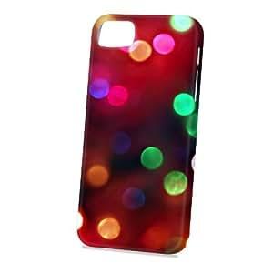 Case Fun Apple iPhone 5 / 5S Case - Vogue Version - 3D Full Wrap - Multicoloured Bubbles