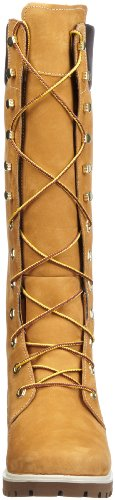 Timberland Woms Prem 14In Wheat Wheat, Stivali alti, Donna Marrone (Braun (Wheat Nubuck))