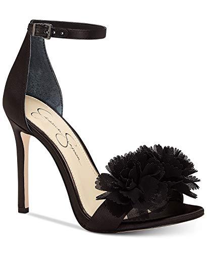Jessica Simpson Women's JEENA Heeled Sandal, Black, 7 Medium US