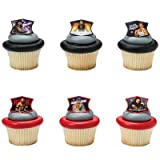 WWE Ringleaders Cupcake Rings - 24 ct