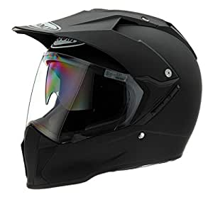 Suomy KTME00X6-MD Helmet (Matte Black Medium)