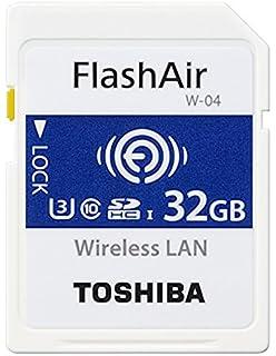 Toshiba FlashAir W-03 - Tarjeta de memoria SDHC de 16 GB ...