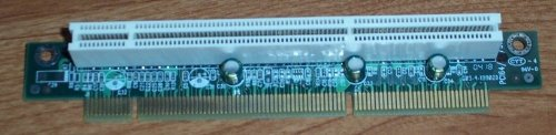 SuperMicro 1U Server 3.3v PCI-X Riser Card (RSR64_1U) RSR64-1U) - RSR64_1U