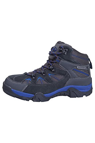 Mountain Warehouse Rapid Wasserdicht Regendichte Kinder Wanderschuhe Trainer Trekking Schuhe Blau 37
