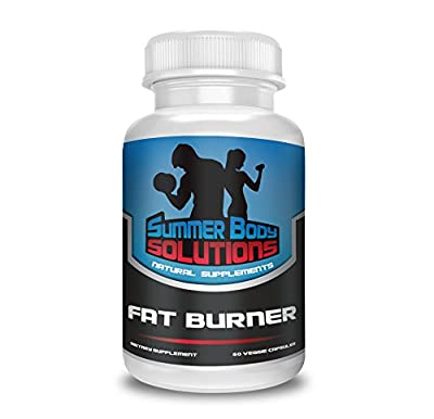 Summer Body Solutions - Fat Burner for Men and Women - Premium Thermogenic Weight Loss Supplement - NO JITTER Muscle Preserving Natural Diet Pill - 60 Veggie Capsules