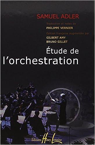 Etude de lOrchestration Adler