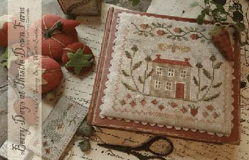 Berry Days At Thistle Down Farm Cross Stitch Chart and Free Embellishment