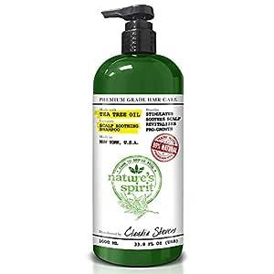 Nature's Spirit Tea Tree Oil Shampoo 33.8 oz.